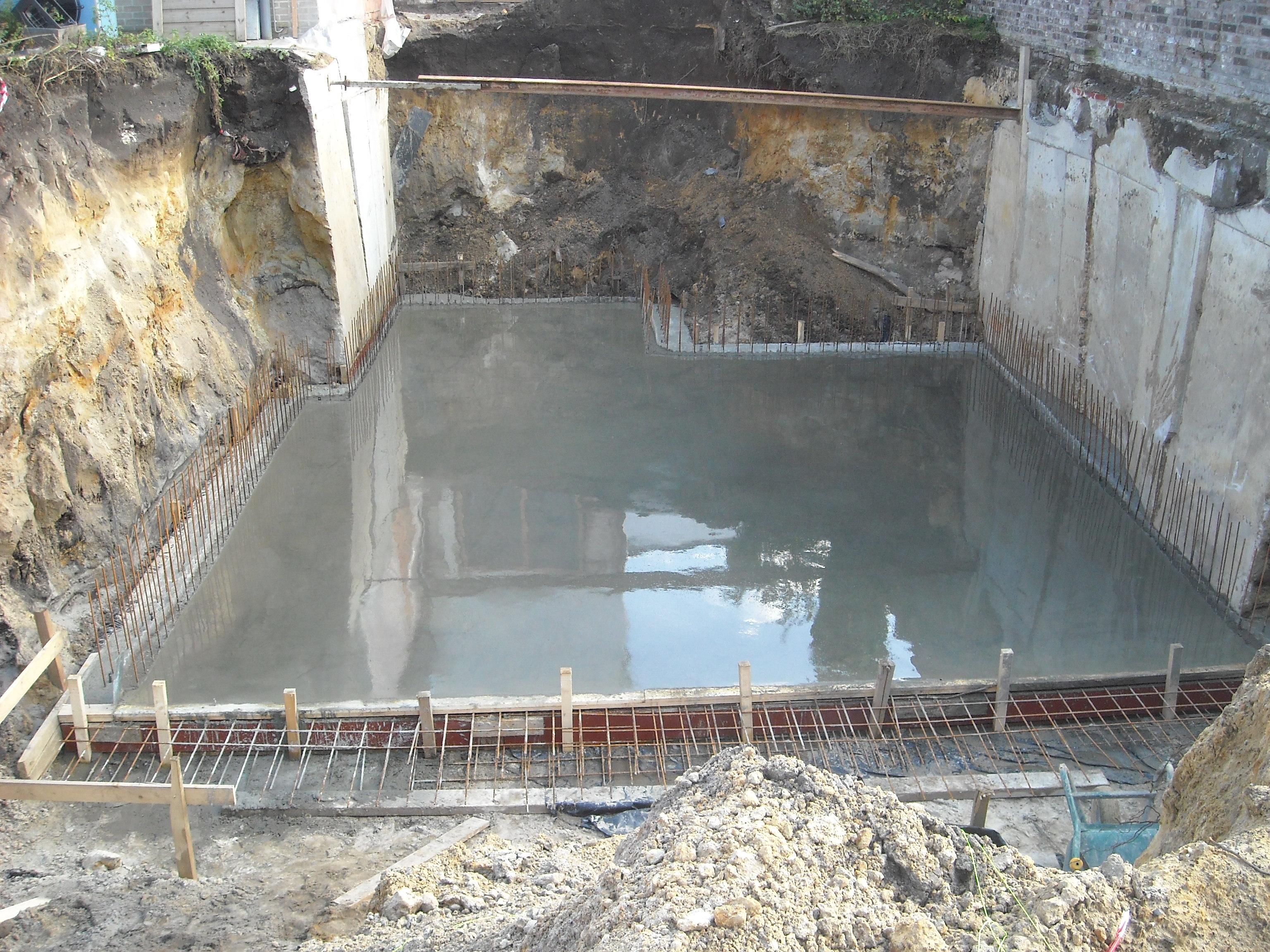 Badkamer Vloer Storten : Vloer storten perfect project woudenberg betonvloer design with